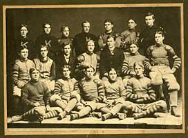 bl012494 fielding yost university of kansas football team fieding yost at far left date