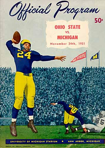 University Of Michigan Athletics Football Program