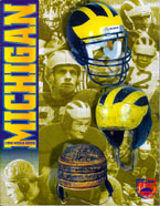 University of Michigan Football Helmets Over the Years, by Bentley Historical Library