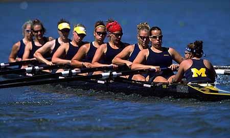 0096a4b54fd0 U of M Women s Rowing. NCAA 2nd Eigth Champion team