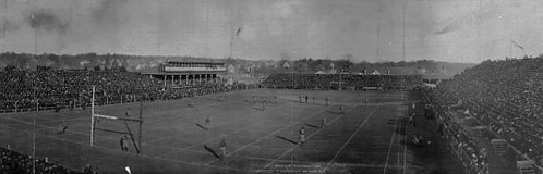 1905 Wisconsin game, Ferry Field