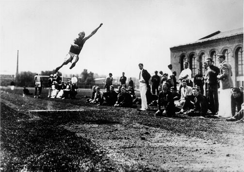 how to measure the broad jump