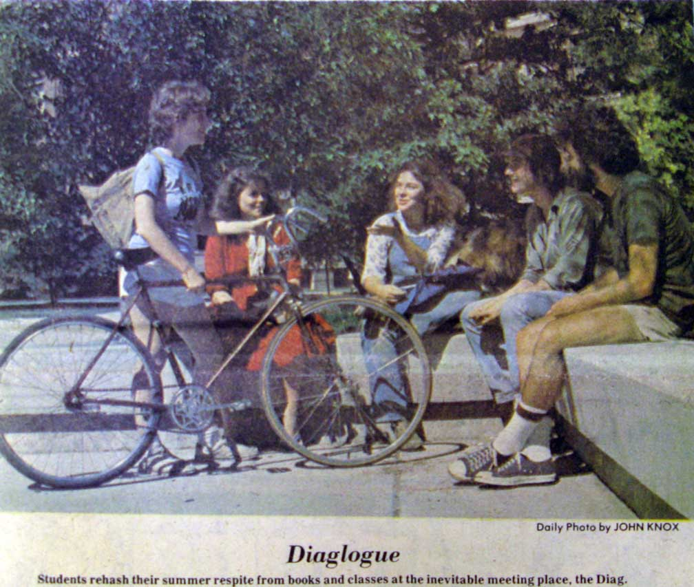 First Color Image By John Knox On The Front Page Of New Student Edition Sept 7 1978