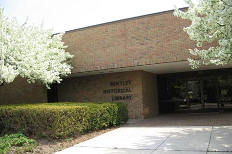 1973 bentley historical library