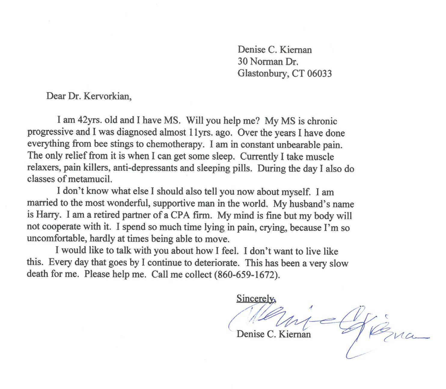 Thank You Letter To Doctor