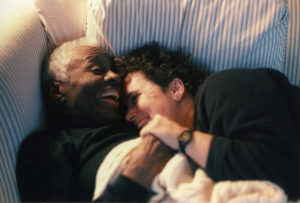 Ruth Ellis with friend Sarah Uhle in 1992.