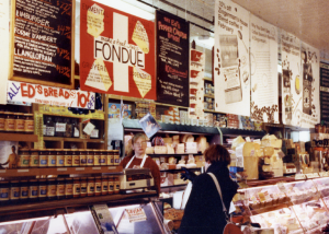 The story around Zingerman's food has been as important as the food itself. Word-packed signs, labels, and print pieces detail not just ingredients, but the company's mission and values.