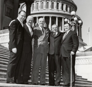 Alvin Bentley and other survivors of the attack on the U.S. Capitol