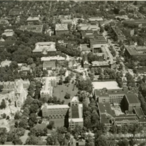 Aerial Survey Corp image of campus circa 1931